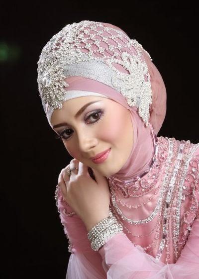 contoh rias pengantin muslimah natural terbaik 2017