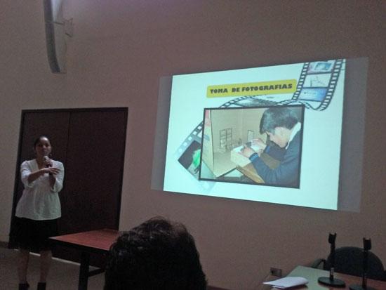 Exposición profesora Marisabel Bellido