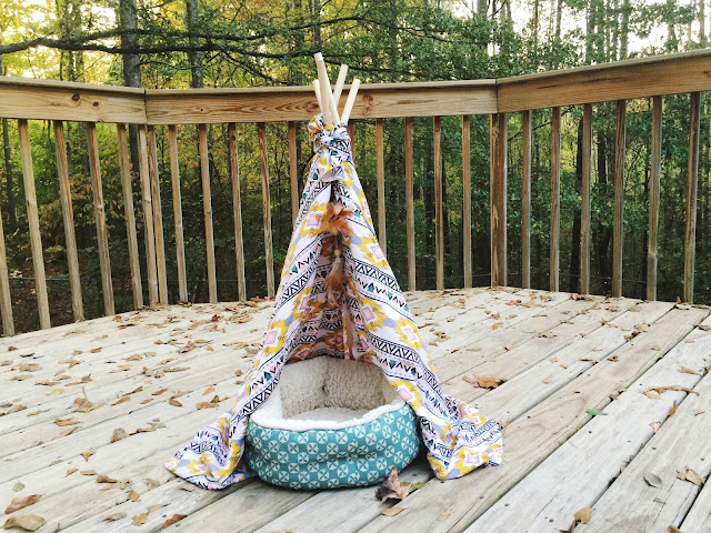 #catbed #DIY #teepee #shop #cbias