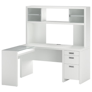 Bush Furniture Kathy Ireland Office L Desk And Hutch Small Suite