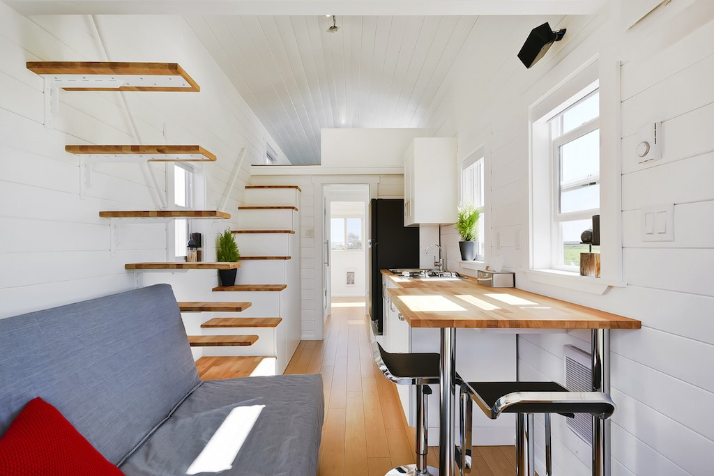 TINY HOUSE TOWN Custom Home From The Mint Tiny House Company