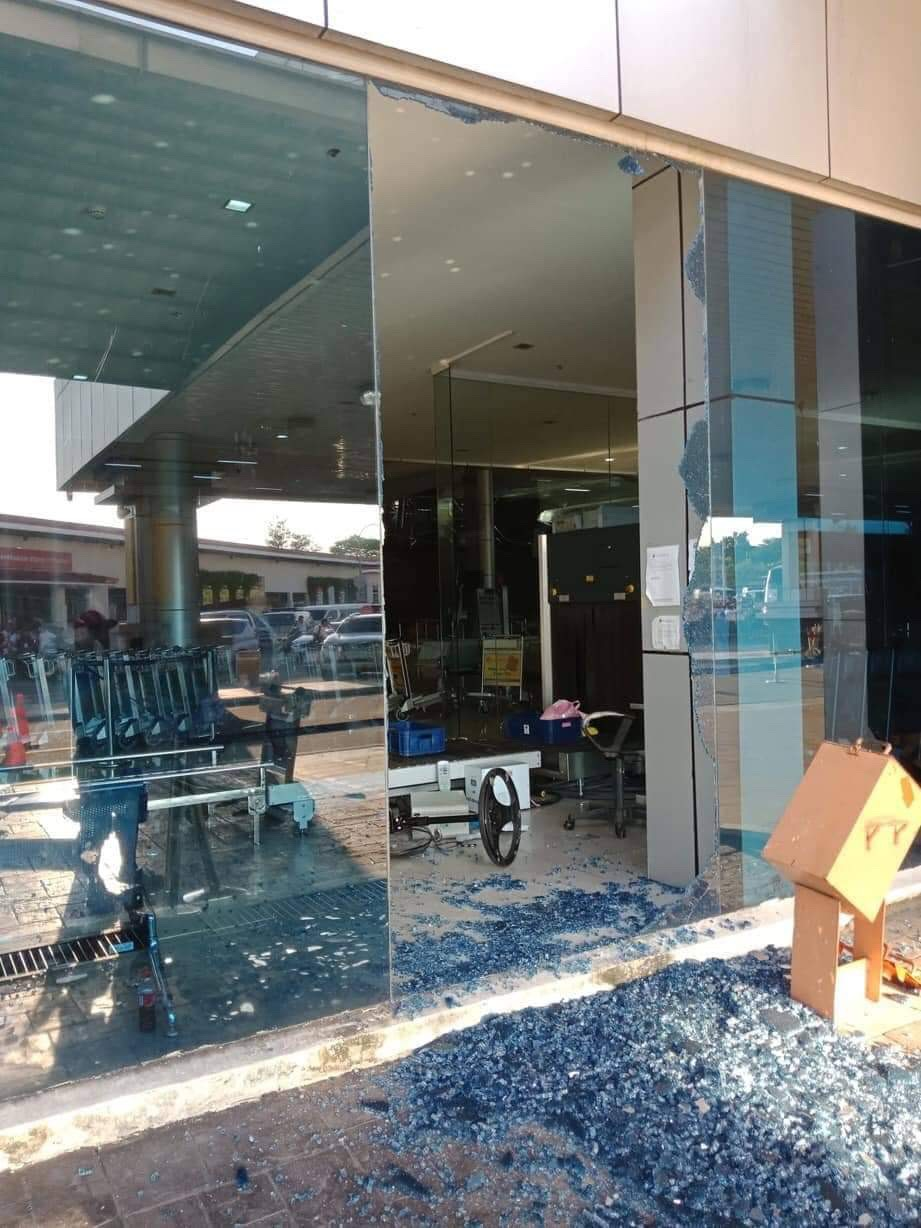 Clark International Airport damaged earthquake