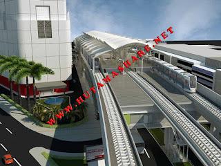 Kumpulan beberapa ANGKOT Angkutan Umum yang Menuju melewati Stasiun MRT blok m