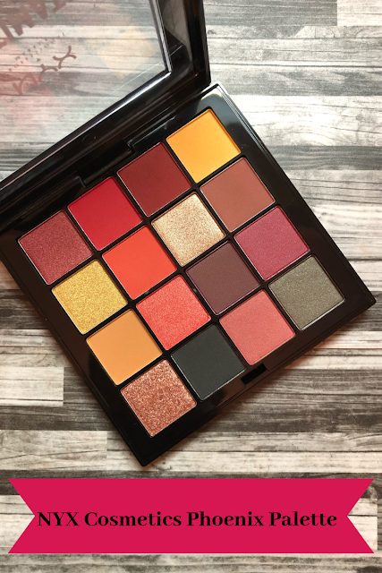 NYX Cosmetics Phoenix Ultimate Shadow Palette (Review and Swatches)