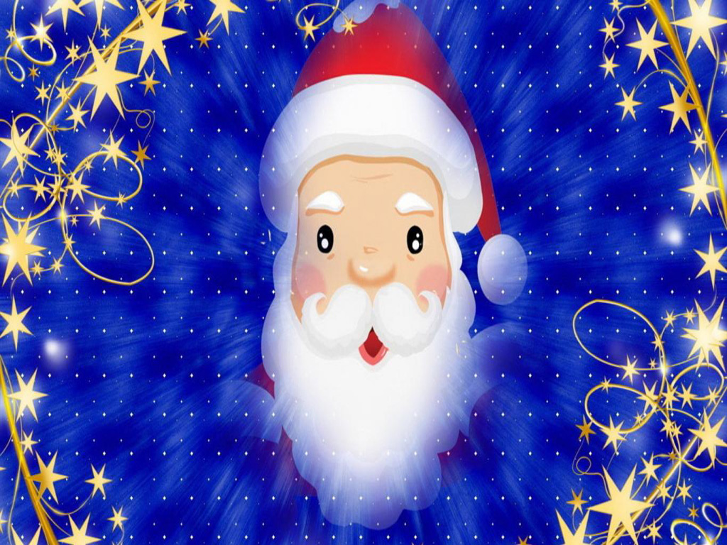 free merry christmas santa claus hd wallpapers for ipad - mobile