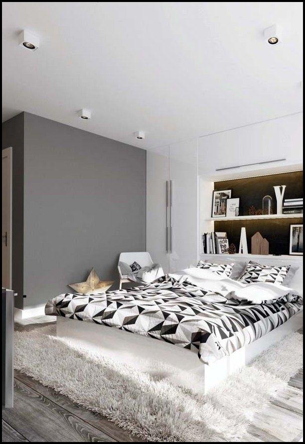 Enkelt soverom interiørdesign ideer