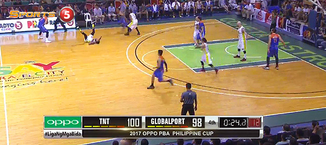 TNT KaTropa def. GlobalPort, 102-98 (REPLAY VIDEO) January 25