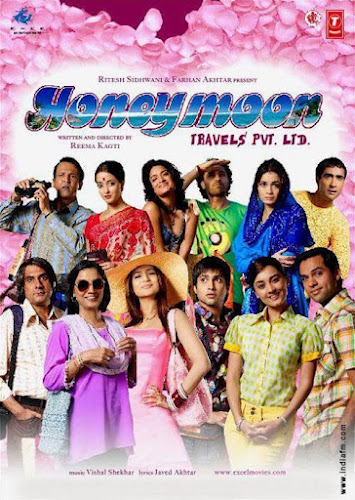 Honeymoon Travels Pvt. Ltd. (2007) Movie Poster