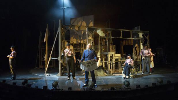 Brecht, Weill - The Threepenny Opera - National Theatre - photo Richard Hubert Smith