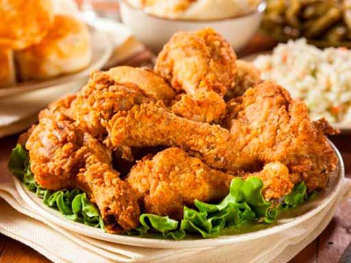 Demasiada comida frita puede acortar tu vida