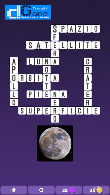 Soluzioni One Clue Crossword livello 10 schemi 13 (Cruciverba illustrato)  | Parole e foto