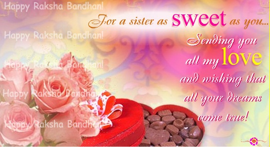 Happy Raksha Bandhan 2018 Sayings for Sister