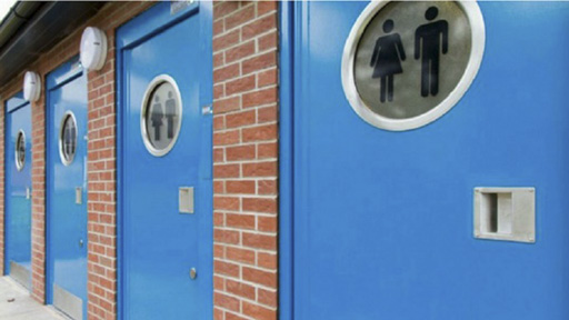 The town of Porthcawl in Wales plans to spend around $200K (£170,000) to install 'anti-sex' public toilets.