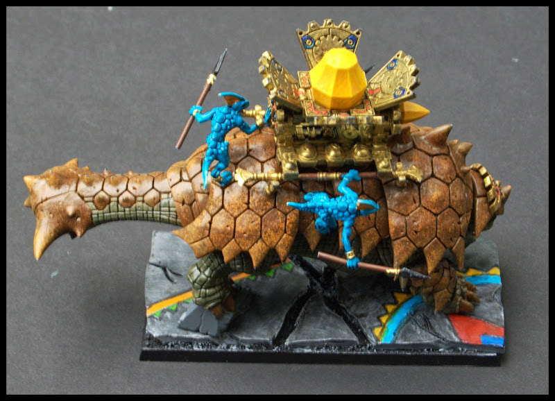 Bastiladon on Temple Base
