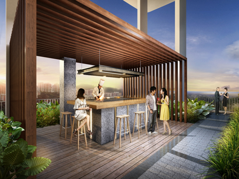 Spottiswoode Suites Dining Pavilion