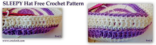 how to crochet, free crochet patterns, hats, beanies, chemo caps, bald heads, alopecia,