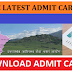 UKSSSC Admit card 2019 - Download Uttarakhand Group C admit Card