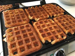 Gluten Free Plain Waffles