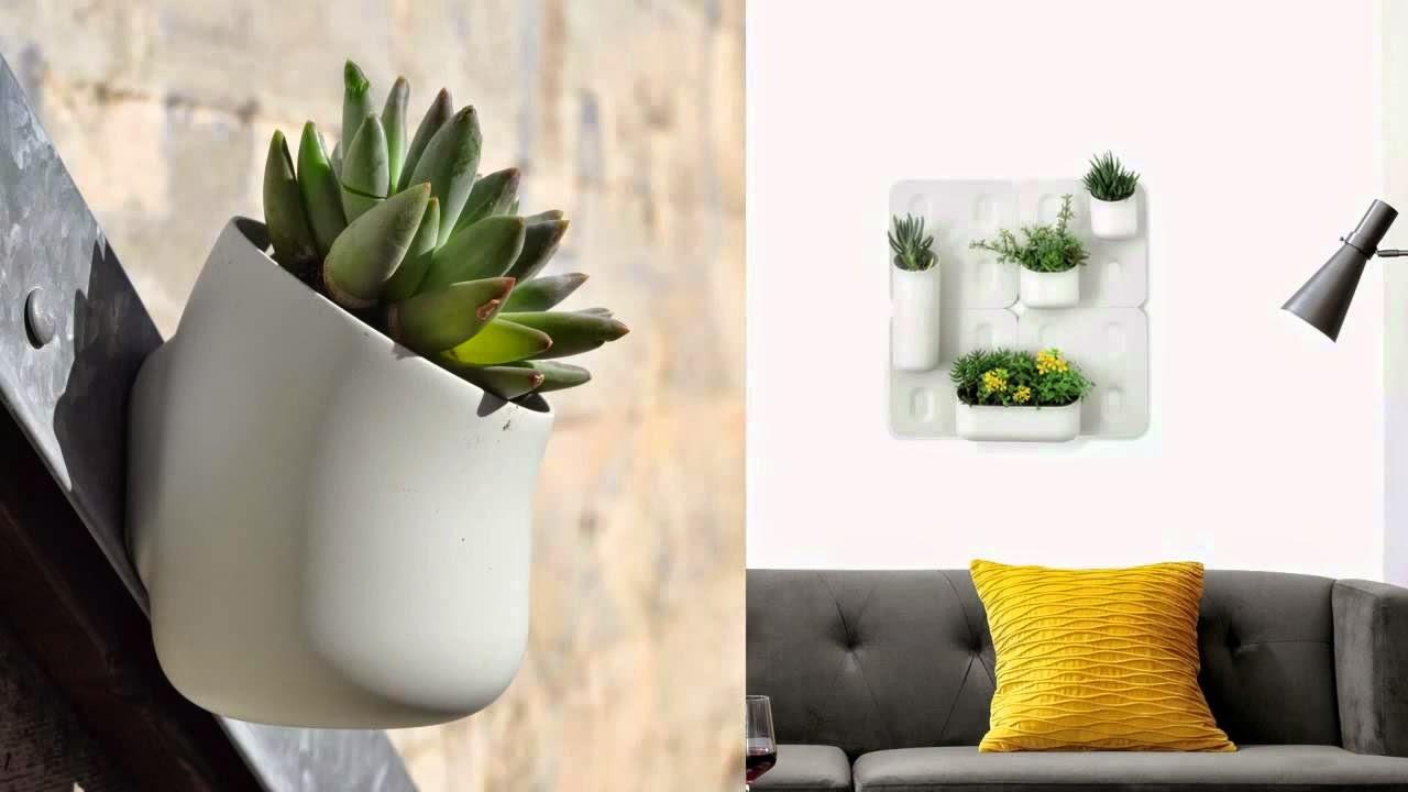 Magnetyczna Doniczka Agence Daney Czyli Kwiaty Na ścianie