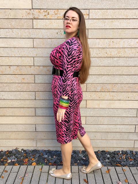 pug pink misfits dress