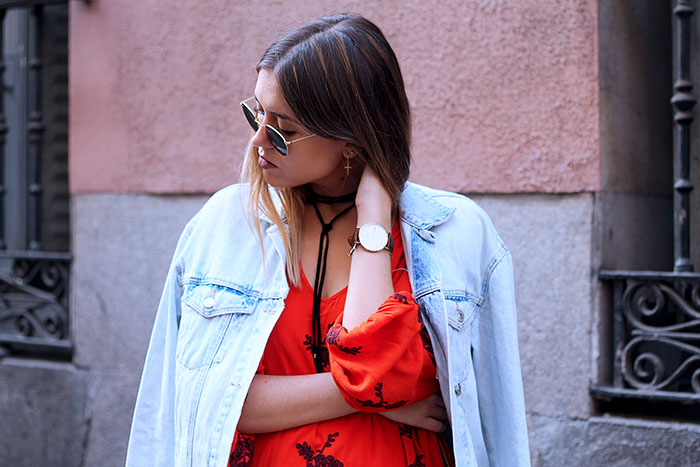 rojo y denim
