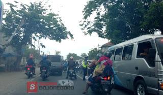 Arus Lebaran Ke Dua, Jalur Baureno-Bojonegoro,  Padat Merayap