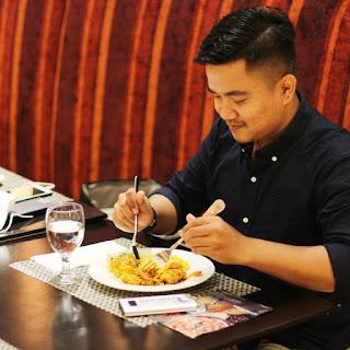 Makan Malam di Orchid Restauran Grand Mercure Maha Cipta Medan Angkasa
