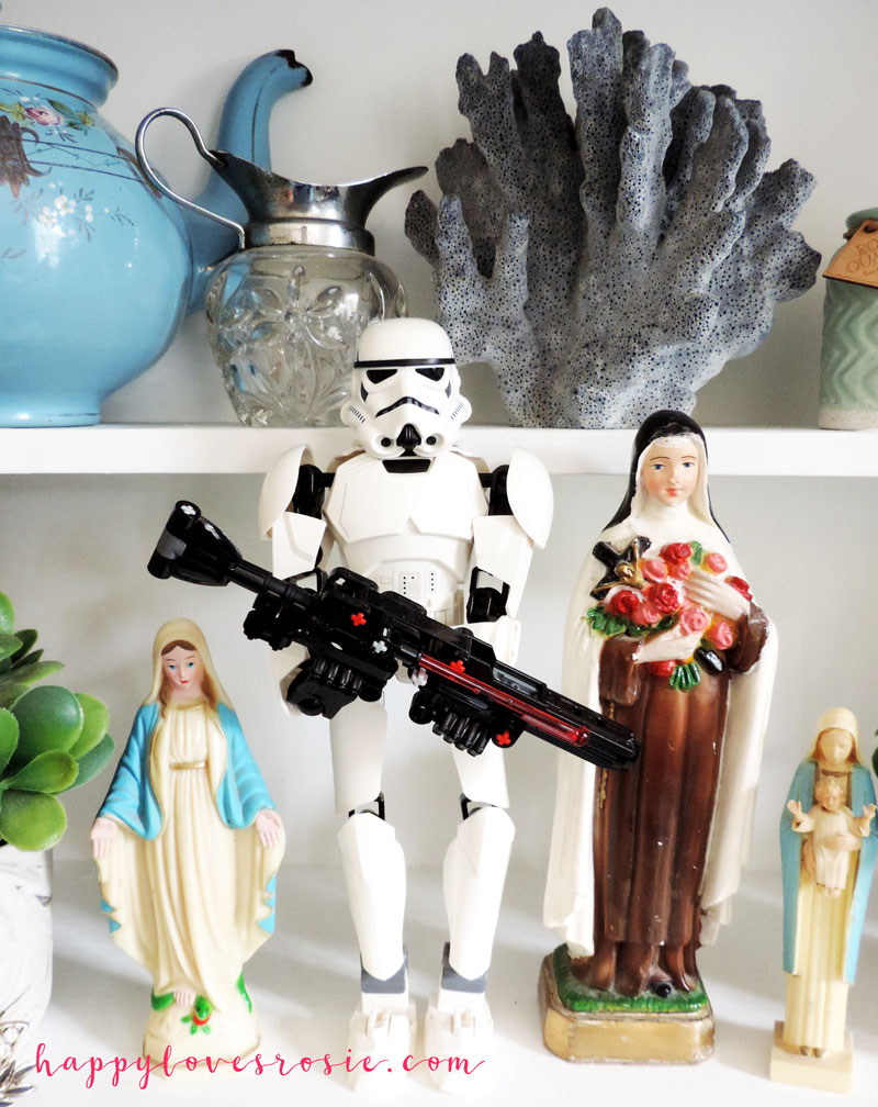 Stormtrooper and Mary