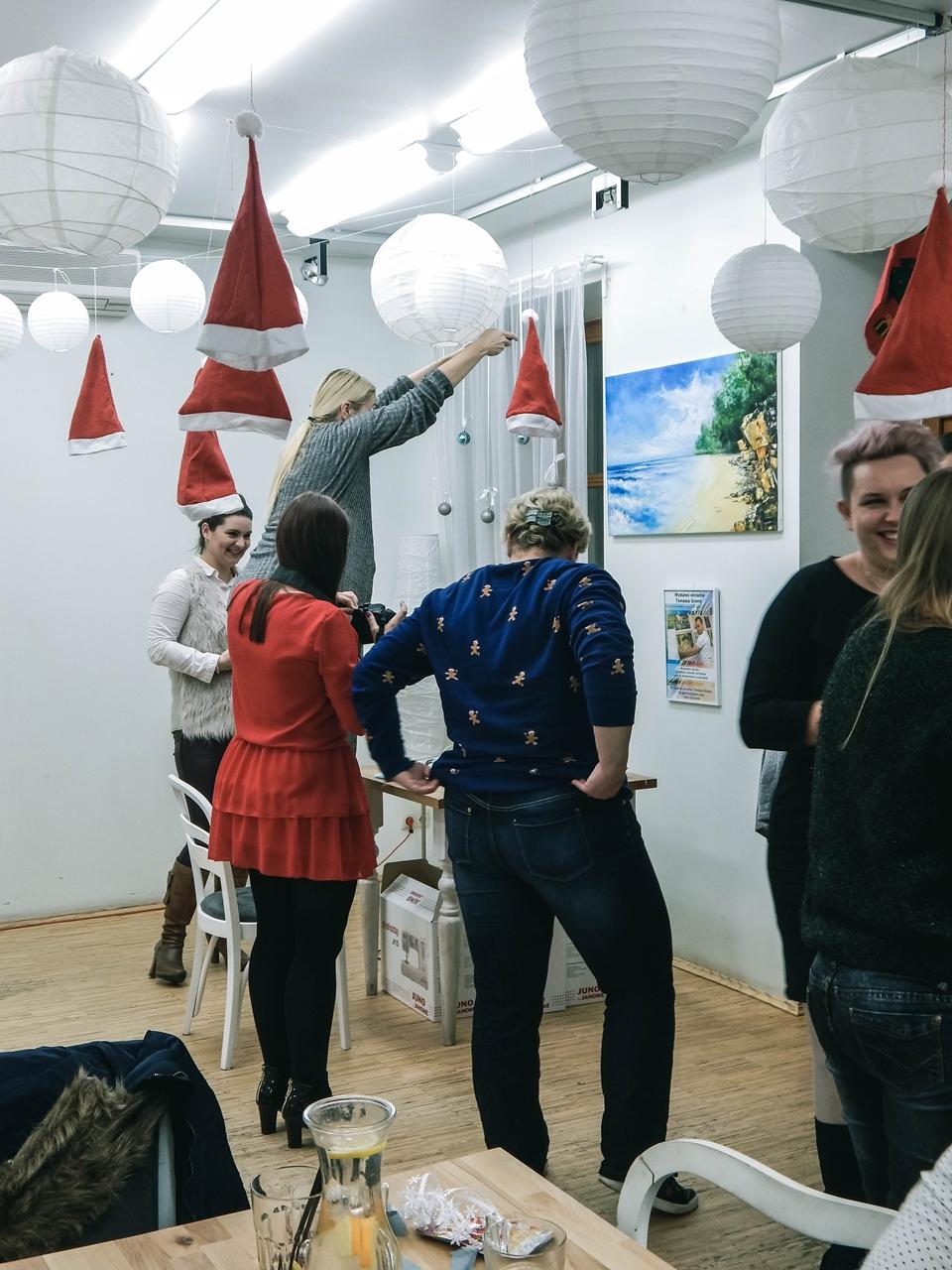 14 spotkanie blogerek mikołajki łódź 2017 akademia urody melodylaniella łódź blog beauty lifestyle fashion moda kulinaria instagram łódź influencer