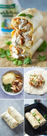 Chícken Ranch Wraps