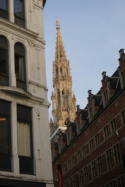 spire in Brussels