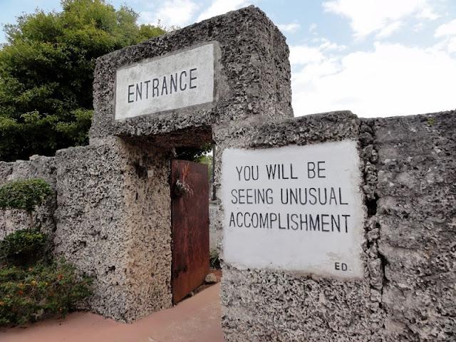 Passeio em Coral Castle Museum Miami
