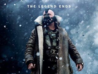 The Legend Ends Bane under Snow  Dark Knight Rises HD Wallpaper