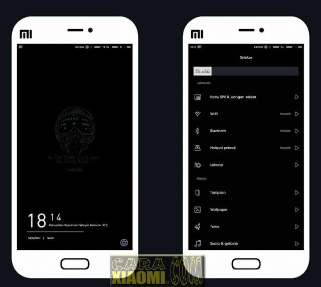 Download MIUI Theme De Odds Mtz Untuk Xiaomi Terbaru