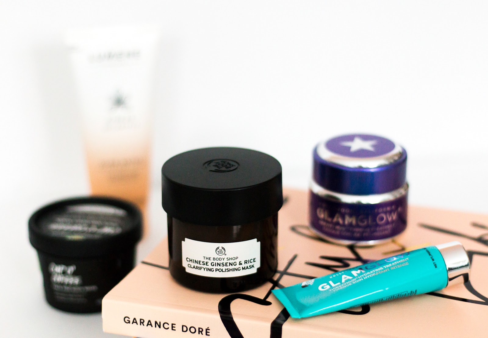 Face mask | glamglow | the body shop