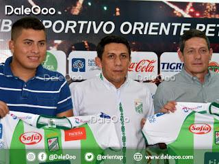 Oriente Petrolero presenta a Romel Quiñonez y Mauricio Soria - DaleOoo