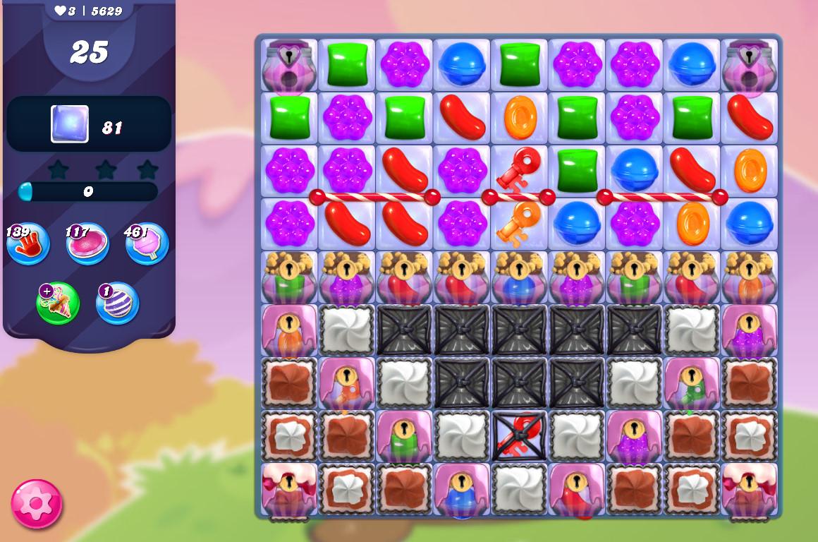 Candy Crush Saga level 5629