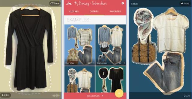 يمكنك تنظيم ملابسك من على موبايلك ... تطبيق رائع