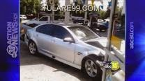 Tulare car accident Valero gas station prosperity avenue