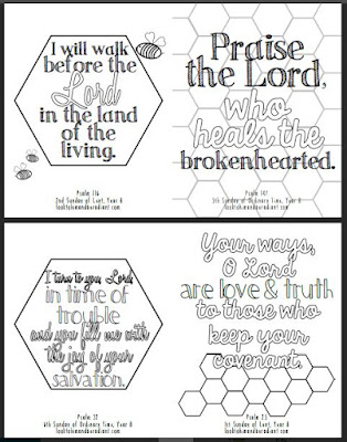 Ill Post Coloring Pages Of The Psalms Once A Month So Stay Tuned You Can Find August Here September