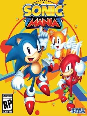 Sonic Mania Jogos Torrent Download capa