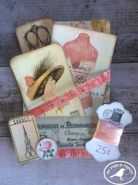 How to create a pocket card for junk journal