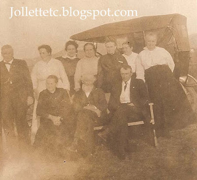 Jollett Family Reunion about 1916 http://jollettetc.blogspot.com