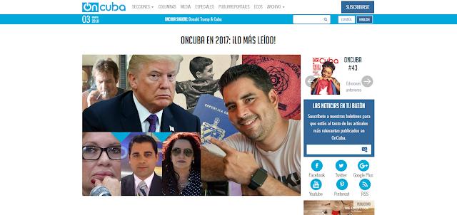 En la foto aparecen: Jorge Perugorría (actor cubano), Isabel Santos (actriz cubana), Abel Álvarez (presentador cubano), Blanca Rosa Blanco (actriz cubana), Luis Silva (humorista cubano), Donald Trump (Presidente de USA), Elian González (niño cubano)