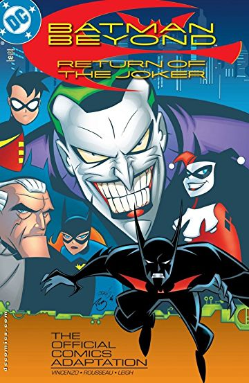 Batman Beyond Return Of The Joker (2000) 720p BluRay Dual Audio [Hindi – English] ESub 500MB