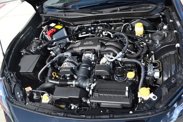 Healthy car engine