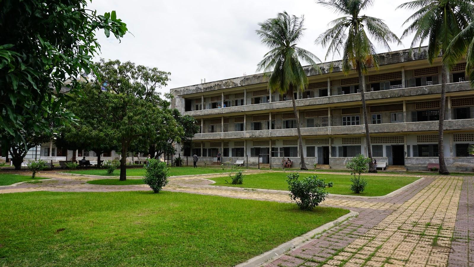 Inside Tuol Sleng Genocide Museum