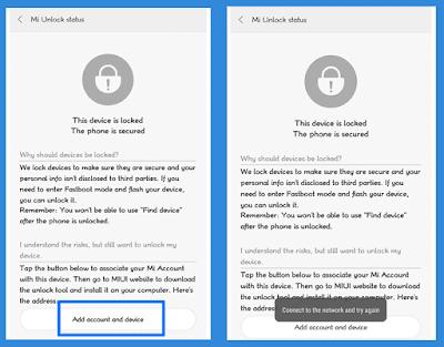الصور -كيفية -فتح -البوت لودر- bootloader -في هواتف -Xiaomi