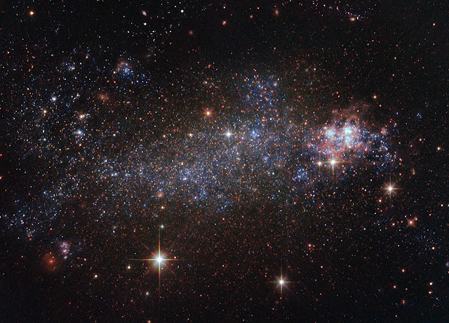 The NGC 5408 Galaxy