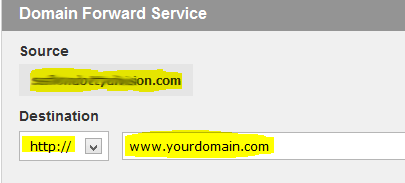 Bigrock how to domain forwarding